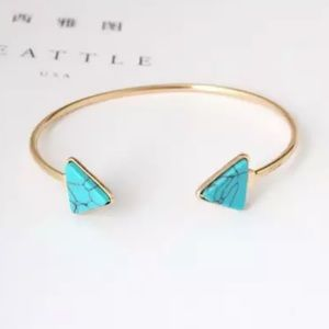 Jewelry - Gold Filled Turquoise Arrow Bracelet